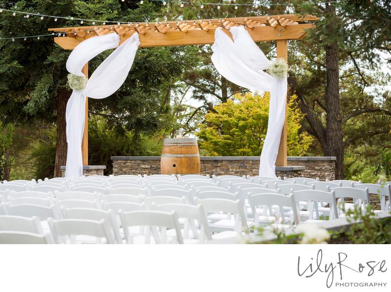Ceremony Wedgewood Napa Wedding Photographers