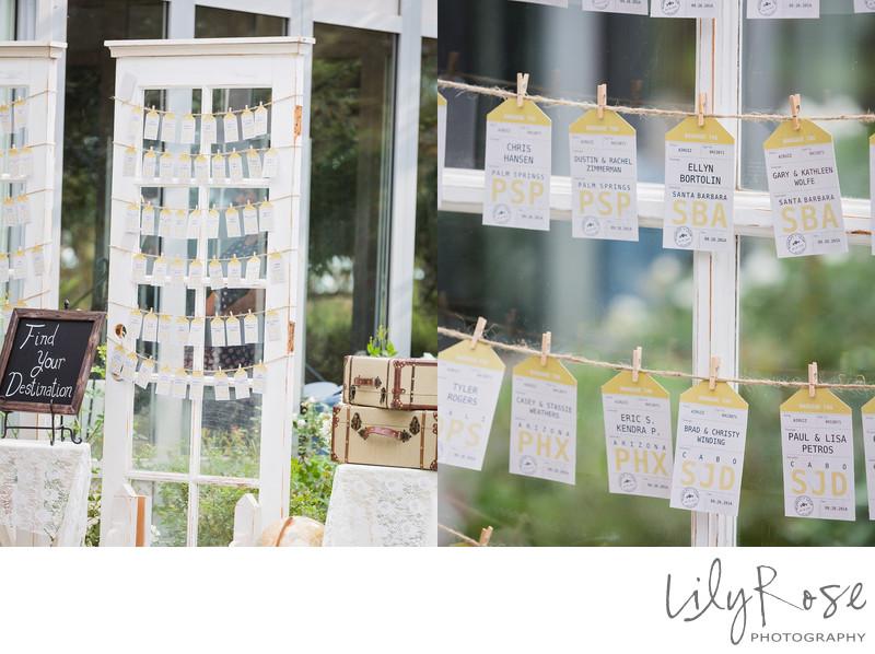 Wedding Details Wedgewood Napa