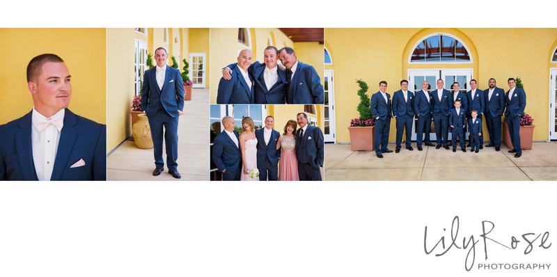 Groom Portraits Napa Meritage Resort