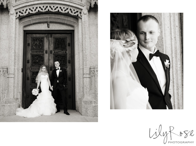 Classic Portraits Bride and Groom San Francisco