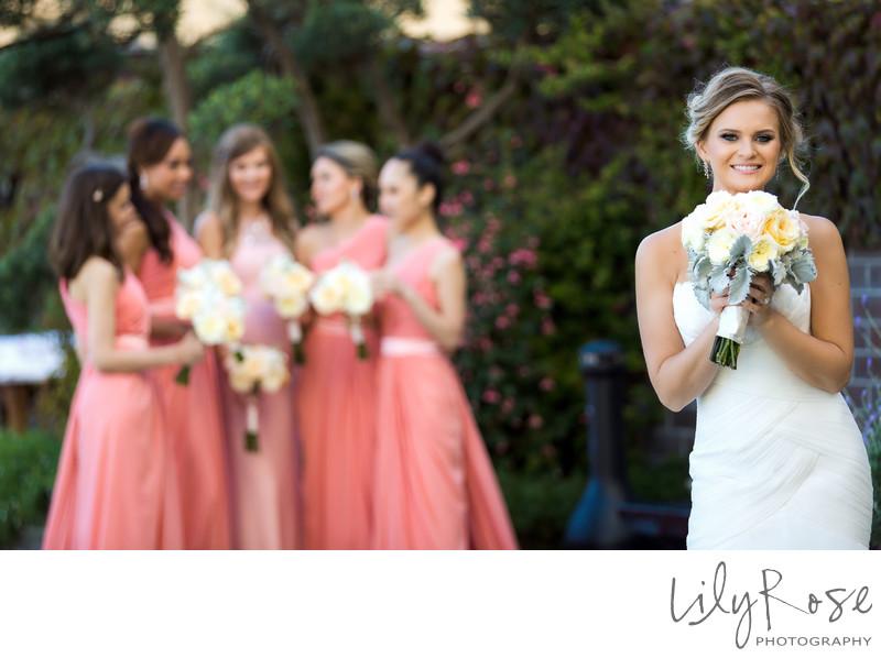Bridal Party with Bride Fairmont San Francisco