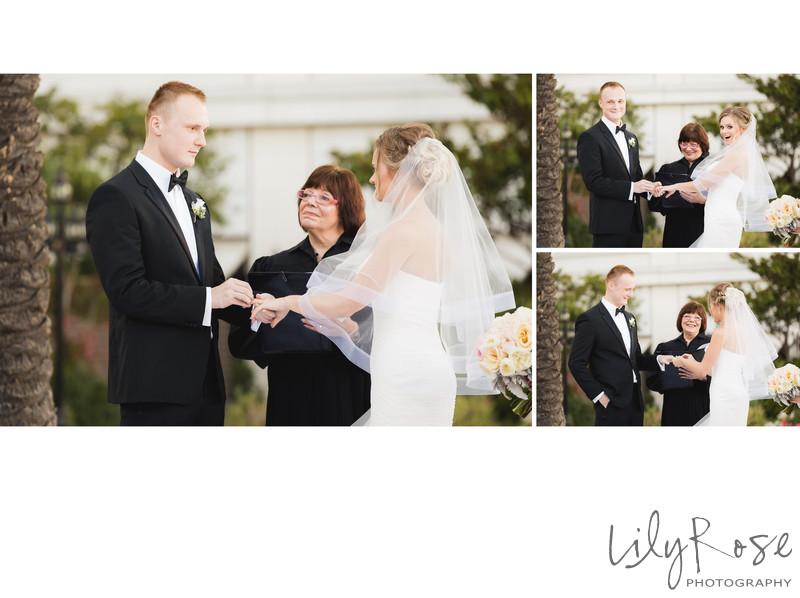 Wedding Ring Exchange Fairmont San Francisco