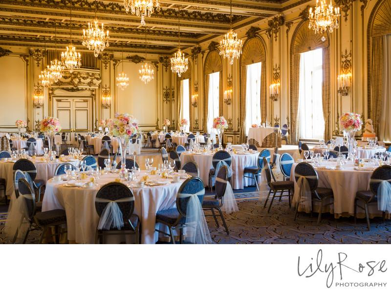 Wedding Reception Fairmont San Francisco
