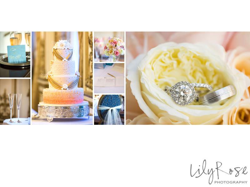 Wedding Reception Details Fairmont San Francisco