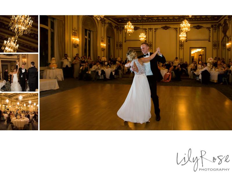 Wedding Reception Dancing Fairmont San Francisco