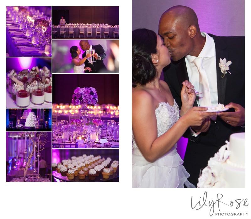 Wedding Cake Cutting San Francisco St. Regis Hotel