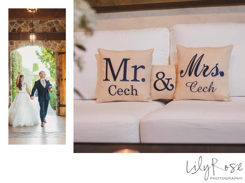 Fun Wedding Photographers in Sonoma Valley California