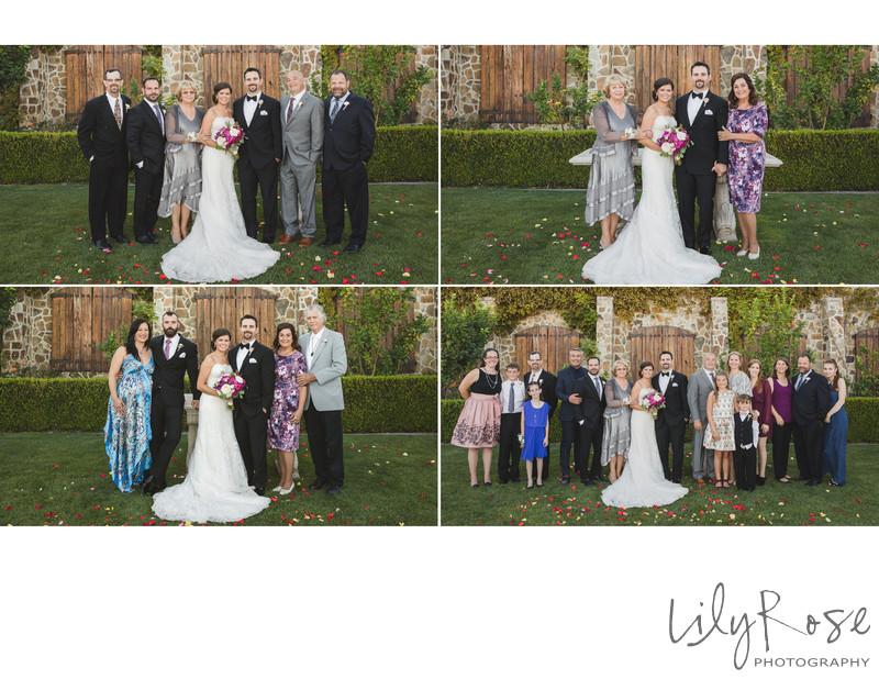 Elite Photographers Sonoma Jacuzzi Family