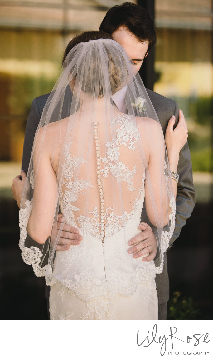 Wedding Dress Details Sonoma Wedding Photographer