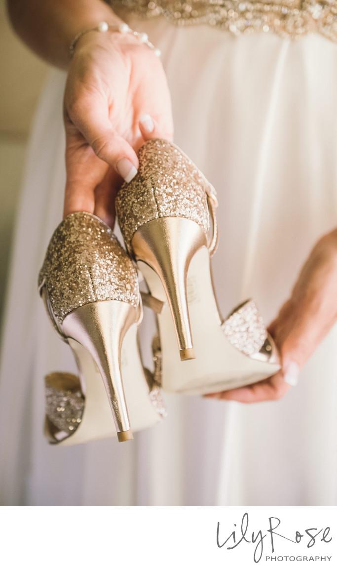 Wedding Shoes Napa Wedding and Engagement Photographer