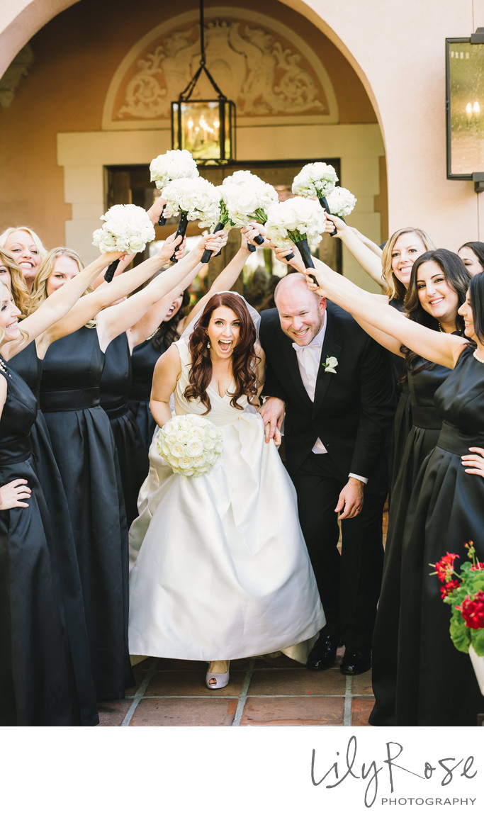 Fun Wedding Photographers in Sonoma