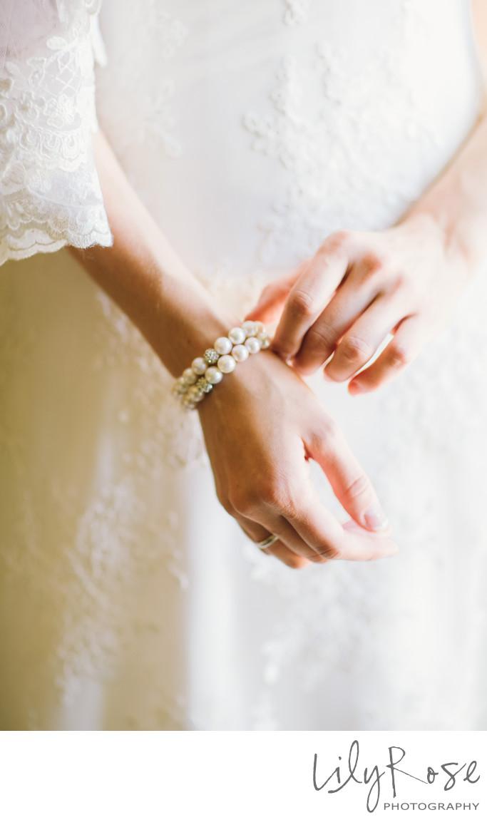 Bride Bracelet Napa Wedding and Engagement Photographer