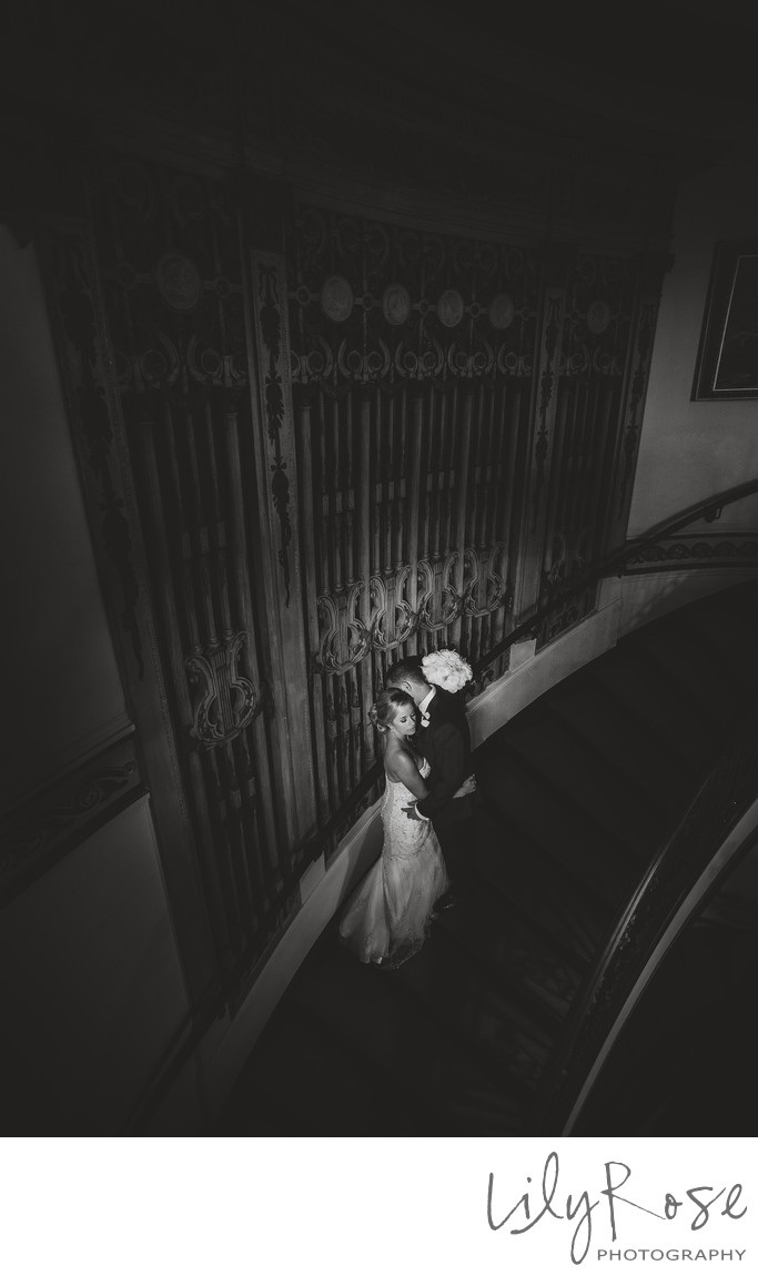 Best Wedding Grand Island Mansion Bride and Groom