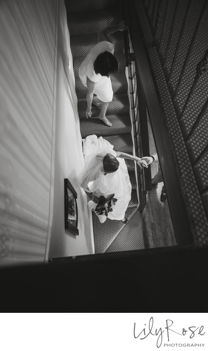 Bride's First Look With Father
