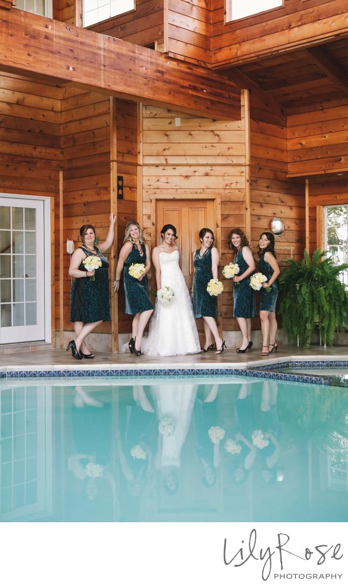 Bridal Party Napa Wedding and Engagement Photographers