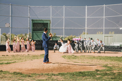 Baseball Wedding Wedgewood Napa Photographer