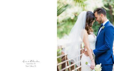 Bride and Groom Silverado Resort and Spa