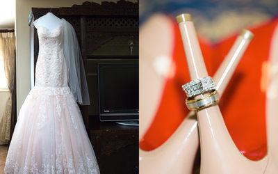 Christian Louboutin Bridal Details Napa Photographer