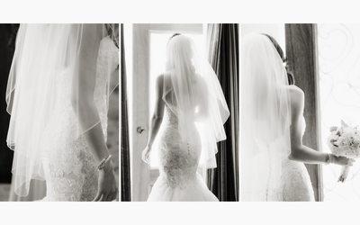Bride Leaving for Wedding Venue in Napa