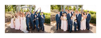 Wedding Party Napa Meritage Resort