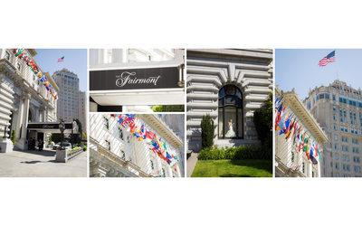 Wedding Photographer Fairmont San Francisco