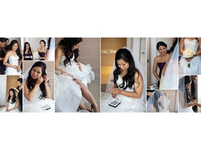 Bride Getting Ready Photos in San Francisco St. Regis