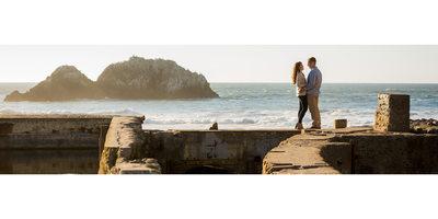 Sutro Baths Engagement Sonoma Photographer