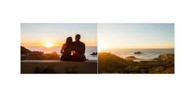 Sutro Baths San Francisco Engagement Photos