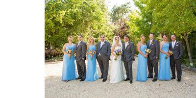Sonoma Wedding Photography Kenwood Sonoma Wedding Party