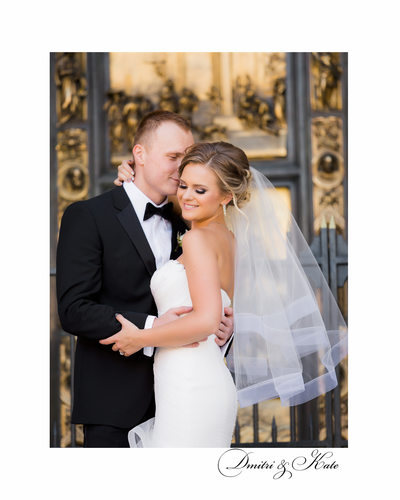 Bride and Groom Fairmont San Francisco