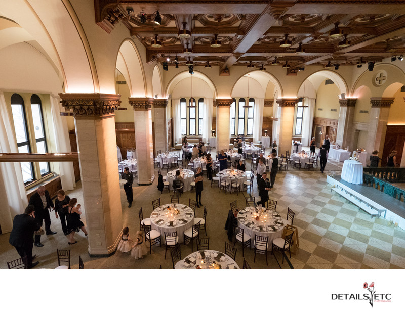 City Flats Ballroom Reception Pictures