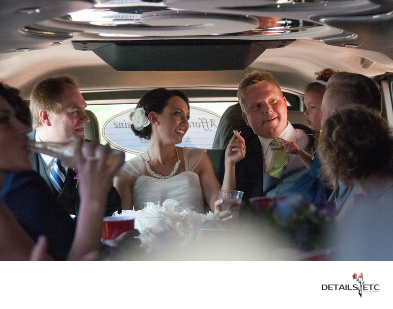 Grand Rapids Limo Wedding Picture