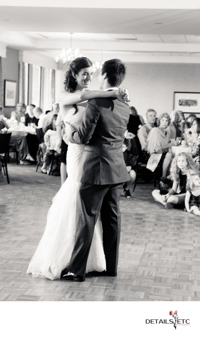 First Dance at the University Club