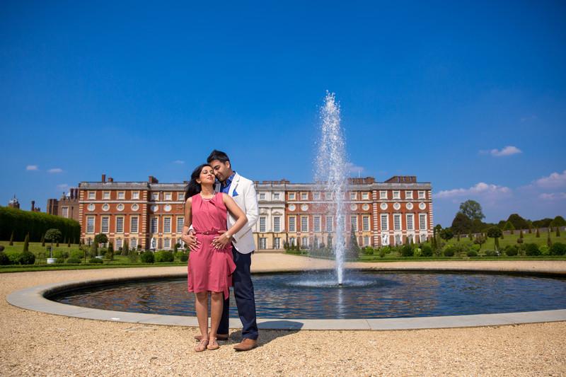Hampton Court Palace Pre Wedding