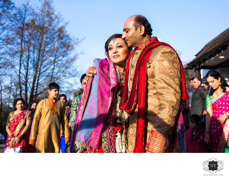 Indian Wedding Vidai Ceremony