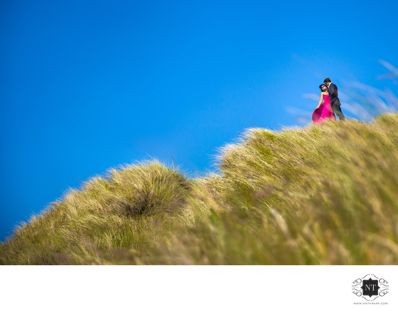Pre-Wedding in Scotland by Asian Wedding Photographer