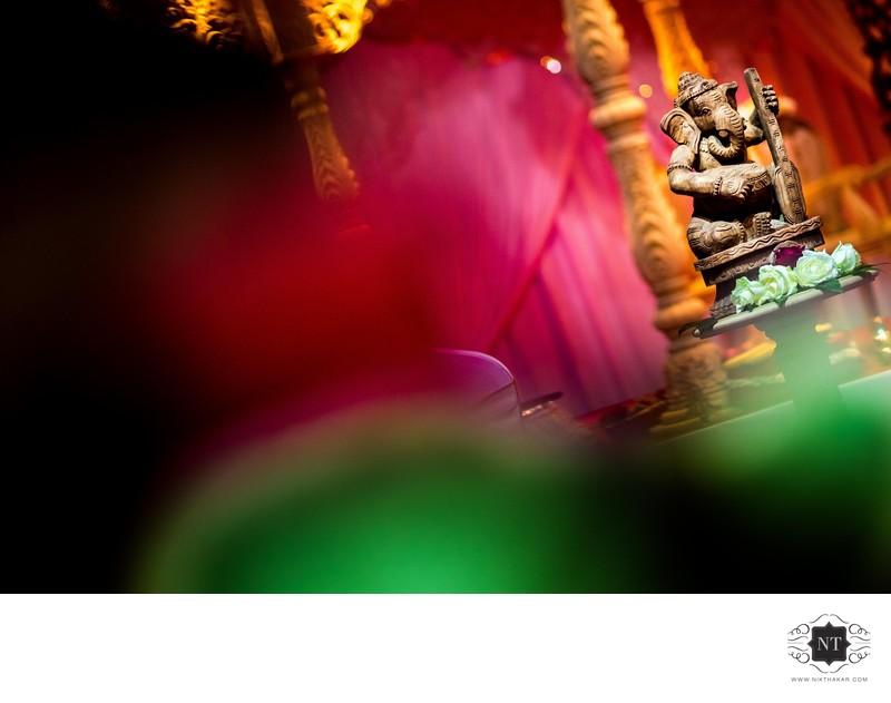 Lord Ganesh Asian Wedding Photographer
