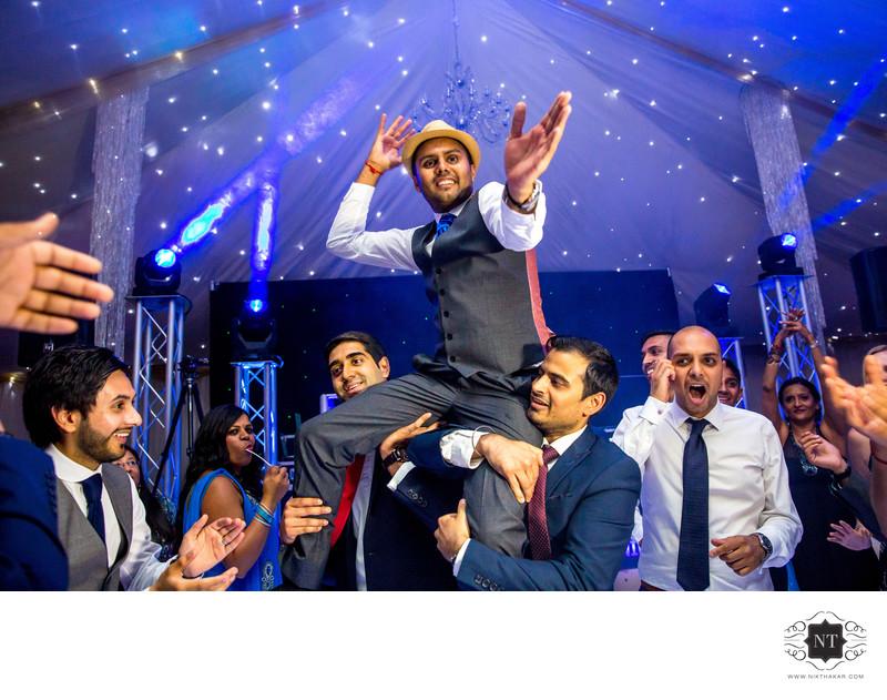 Indian Reception Dance Floor Photographer
