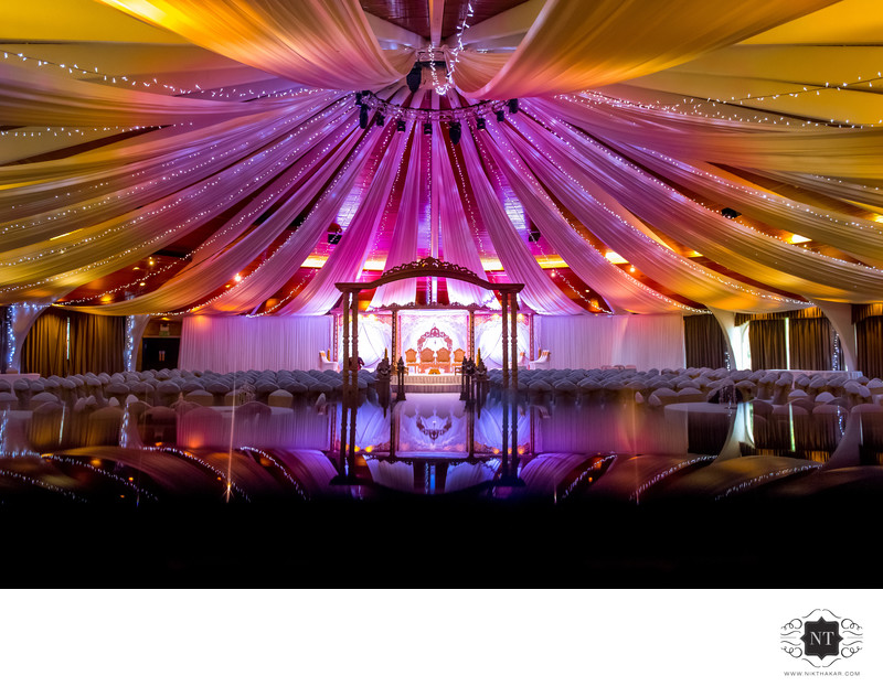 Copthorne hotel indian wedding Mandap
