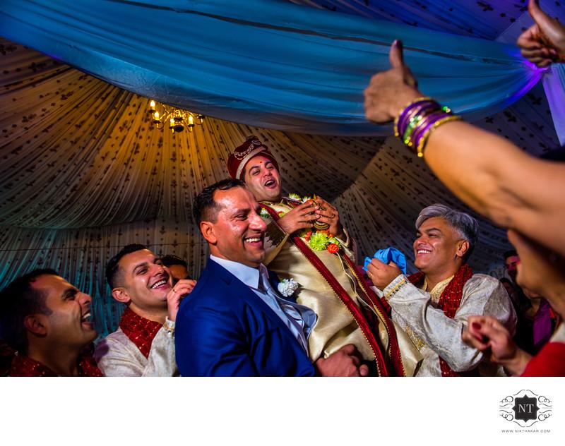 Wedding moments fun beast wedding photography in london