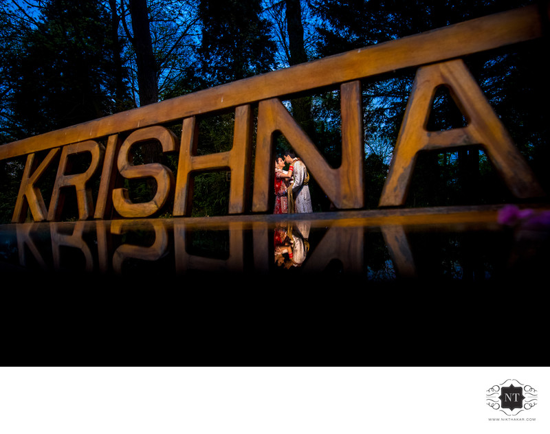 Hare Krishna wedding photographer-Hare Krishna wedding couple portraits