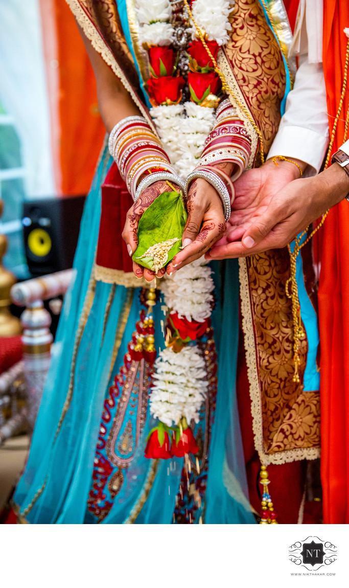 Hindu Wedding Ceremony Details Photography