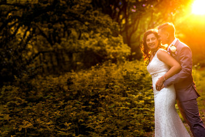 Civil wedding portraits