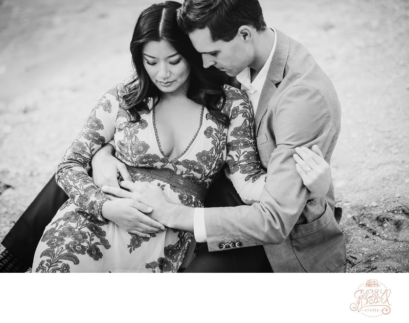 Family Maternity Photographer in Austin Texas