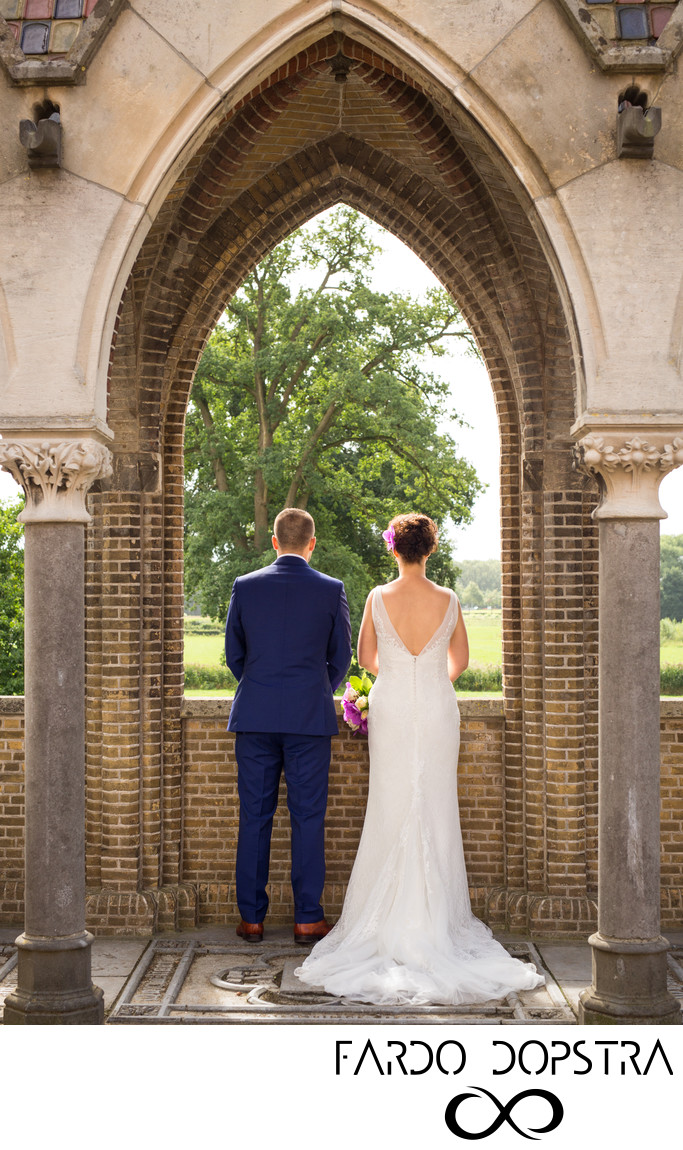 Romantische Bruidsfotografie Kasteel Heeswijk