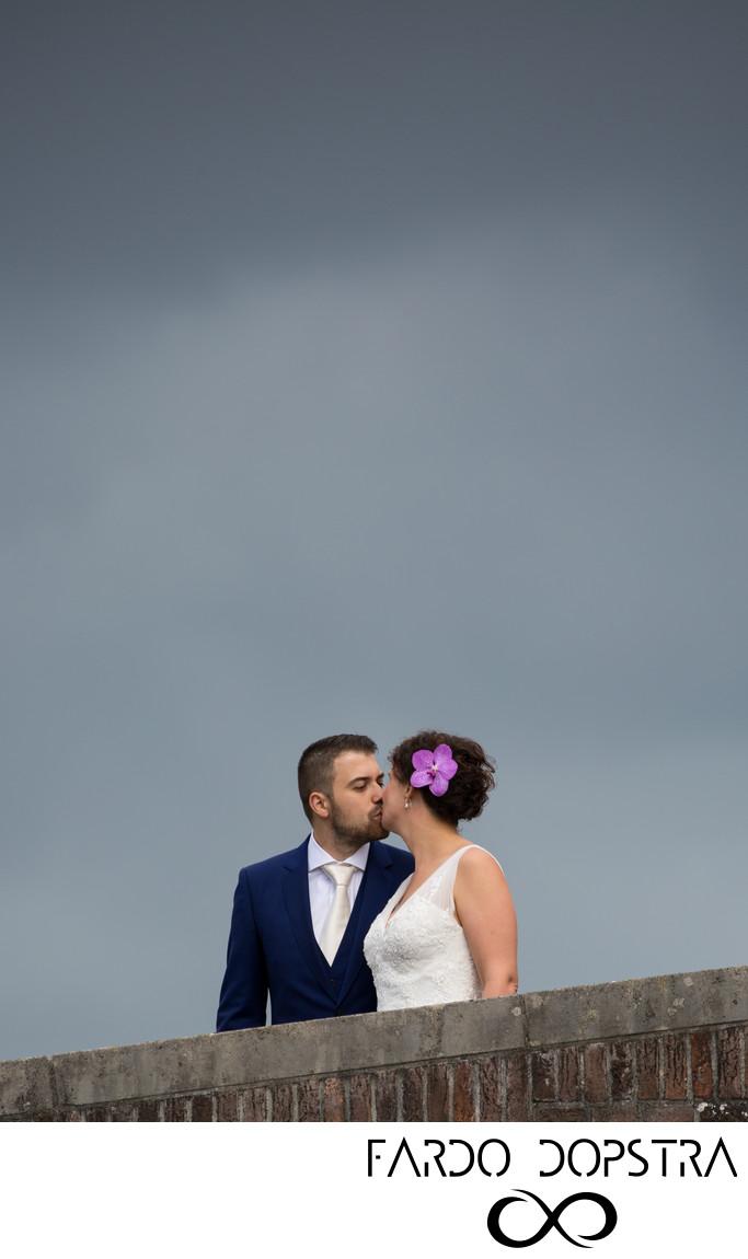 Bruidsfotografie Met Slecht Weer