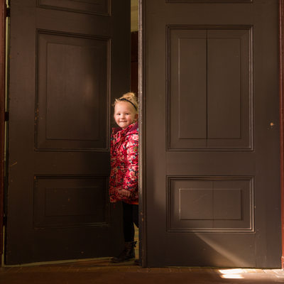 Kinderfotografie - hervormde kerk Westergeest
