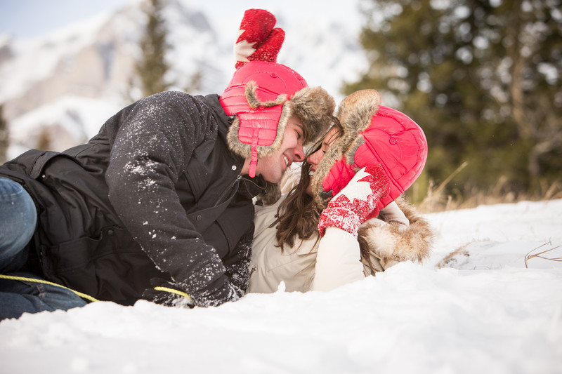 Winter Weddings in Banff & Wedding Photographers Photos