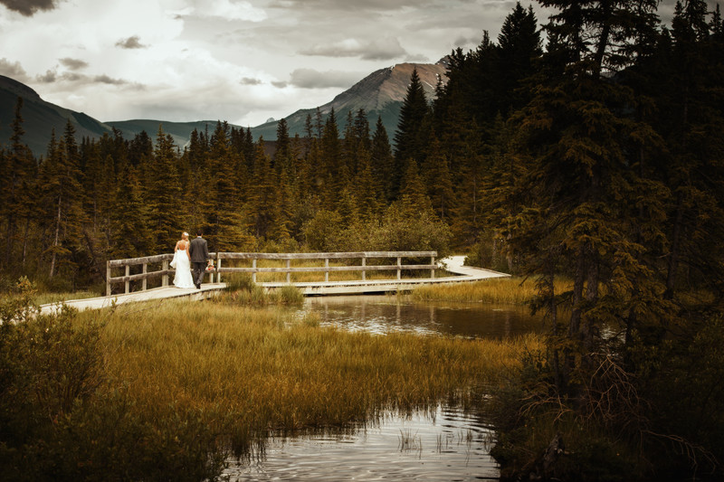 canmore wedding photographers wedding venues