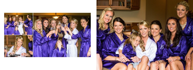 Bride + Bridal Party Getting Ready Photos Canmore